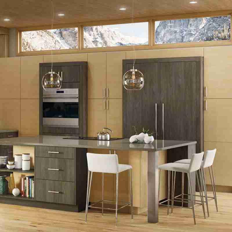 Woodland Cabinetry Loft Grey Stone